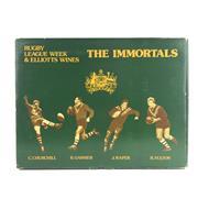 Sale 8876W - Lot 881 - 1x Elliotts Wines The Immortals Port Set - 4 bottles in box