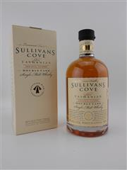 Sale 8479 - Lot 1736 - 1x Sullivans Cove Double Cask Single Malt Tasmanian Whisky - Cask no. DC085, bottle no. 410/1704, bottled 22/02/2016, in box