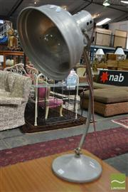 Sale 8528 - Lot 1002 - Industrial Desk Lamp
