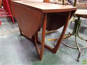 Sale 8585 - Lot 1058 - Good Quality Bithcraft Scottish Drop Leaf Table