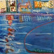 Sale 8656 - Lot 508 - Phillip Stallard (1958 - ) - Dear Neon, 1999 130 x 130cm