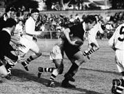 Sale 8754A - Lot 51 - Australian Wallabies, North Sydney, NSW 1964 - Players Les Austin, Dallas O'Neill, Jim Miller 25 x 31cm