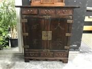 Sale 8809 - Lot 1002 - Korean Medicine Cabinet