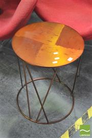 Sale 8406 - Lot 1071 - Metal Occasional Table