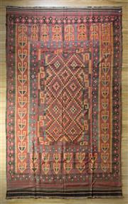 Sale 8653C - Lot 99 - Afgahn Kilim 406cm x 248cm