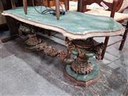Sale 8717 - Lot 1030 - Italian Ornate Base Coffee Table