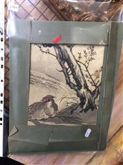 Sale 8771 - Lot 2049 - Pair of Japanese Nature Woodblock Prints (unframed)