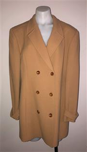 Sale 8926H - Lot 5 - A Jones, New York blazer in camel, size 16