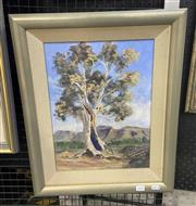 Sale 9004 - Lot 2018 - M. Trodden The Casyneux Tree oil on canvas on board, 43 x 53 cm (frame), signed lower