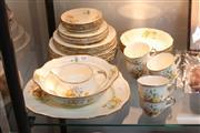 Sale 8360 - Lot 100 - Alfred Meakin Marigold Dinner Setting