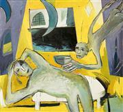Sale 8484 - Lot 591 - Barbara Licha (XX) - Visit, 1993 167 x 152cm