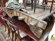 Sale 8469 - Lot 1095 - Vintage Rajistani Coffee table