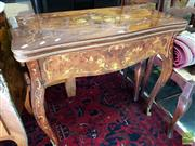Sale 8469 - Lot 1020 - Italian Fold Over Ladies Desk