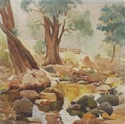 Sale 8713 - Lot 590 - John Eldershaw (1892 - 1973) - The Creek 38 x 57cm
