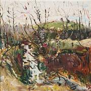 Sale 8755 - Lot 534 - Celia Perceval (1949 - ) - Waterfall 71 x 71cm