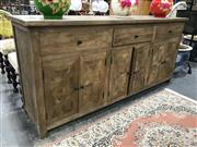 Sale 8863 - Lot 1054 - Recycled Oak Parquetry Top Buffet