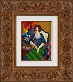 Sale 9154JM - Lot 5062 - ITZCHAK TARKAY (1935 - 2012) Day Dreaming I serigraph, ed. 56/250 27 x 20 cm (frame: 58 x 52 x 5 cm) signed lower right