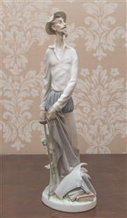 Sale 8375A - Lot 9 - A Lladro figure of Don Quixote, Height 30 cm