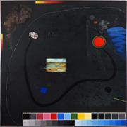 Sale 8427 - Lot 588 - Peter Moller (1948 - ) - After Voss, 1985 120 x 120cm