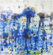 Sale 8565 - Lot 555 - John Olsen (1928 - ) - Wet Season 83.5 x 80.5cm
