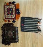 Sale 8643C - Lot 86 - 3 x Persian Pillow Cases 30cm x 40cm