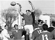 Sale 8754A - Lot 52 - Manly vs Randwick, Rugby Union, 1965 - Manlys Wallaby second-rower Rob Heming 21 x 31cm