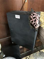 Sale 8802 - Lot 365 - Contemporary Art Sculpture of Box and Rope Form