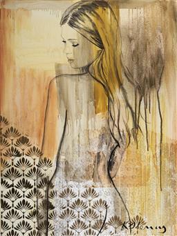 Sale 9081A - Lot 5019 - Kristie Stenning - River 122 x 91 cm
