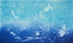 Sale 9112A - Lot 5032 - Frank Hodgkinson (1919 - 2001) - Reef, 1997 50 x 81 cm (frame: 85 x 116 x 4 cm)