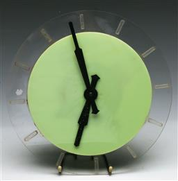 Sale 9148 - Lot 86 - SEC clock (Untested, (Dia 31cm)