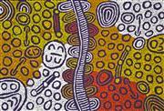 Sale 8288A - Lot 2 - Marlene Young Nungurrayi (1973 - ) - My Country 95 x 65cm