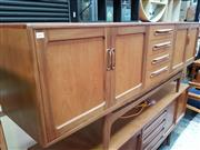 Sale 8451 - Lot 1080 - G-Plan fresco teak sideboard