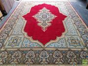 Sale 8469 - Lot 1021 - Persian Kerman (425 x 300cm)