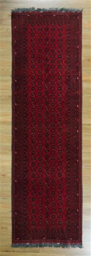 Sale 8643C - Lot 87 - Afghan Qunduzi 300cm x 76cm