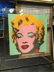 Sale 8730 - Lot 2048 - Andy Warhol Print of Marilyn Monroe (perspex frame) -