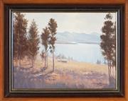 Sale 9045 - Lot 2005 - Michael McCarthy (1940 - ) - Loch Marie, Scotland 22 x 29 cm (frame: 30 x 37 x 4 cm )