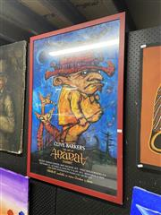 Sale 9061 - Lot 2091 - Clive Barkers the Art of Abarat exhibition, poster, frame: 107 x 74 cm -