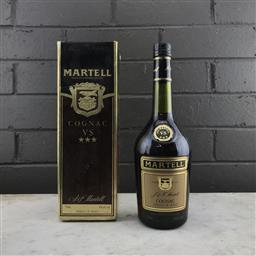 Sale 9089 - Lot 513 - Martell VS Cognac - old bottling, 40% ABV, 750ml in box