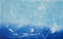 Sale 9112A - Lot 5037 - Frank Hodgkinson (1919 - 2001) - Reef, 1997 50 x 81 cm (frame: 85 x 116 x 4 cm)