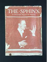 Sale 8539M - Lot 41 - The Sphinx, June 1936, vol. 35 no. 4, creasing on edges