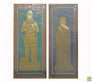 Sale 8604 - Lot 2091 - Pair of Westminster Abbey 1849, Depictions