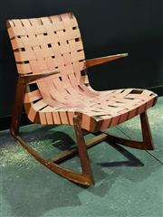 Sale 8661 - Lot 1009 - Snelling Rocking Chair