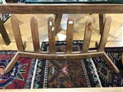 Sale 8809 - Lot 1048 - French Oak Shoe Rack