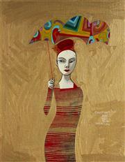 Sale 9081A - Lot 5043 - Constantine Popov (1965 - ) - Rain Series 50 x 40cm (frame 70 x 59 cm)