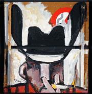 Sale 8449A - Lot 511 - Dennis Ropar (1971 - ) - Untitled, 2002 56.5 x 60cm