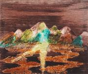 Sale 8519 - Lot 567 - Sidney Nolan (1917 - 1992) - Untitled, 1969 30 x 24.5cm