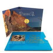 Sale 8618 - Lot 58 - Royal Australian Mint Two Hundred Dollar Gold Uncirculated Coin, Pride of Australia Lizard, 10g 22 carat gold, 1989