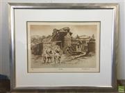 Sale 8649R - Lot 36 - Cedric Emmanuel Print - The Silo (ed. 12/50) (49 x 34cm)