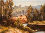 Sale 8631 - Lot 2006 - Pat Murphy - The Upper Turon River 39 x 29cm