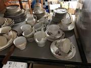 Sale 8819 - Lot 2295 - Rosyln China Tea Wares, Contanial China Tea Wares; Cup sets etc